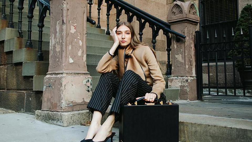 Mark Cross luggage is an American classic, established in Boston in 1945. It's just as stylish today.