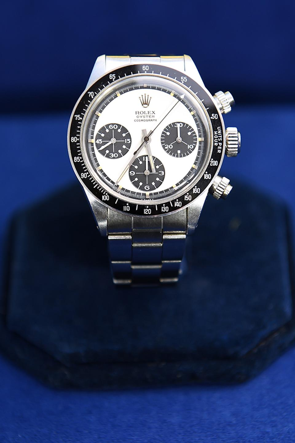 The owner paid $345 for this Paul Newman style Rolex Daytona Ref. 6262, which Antiques Roadshow says could be worth up to $700,000.
