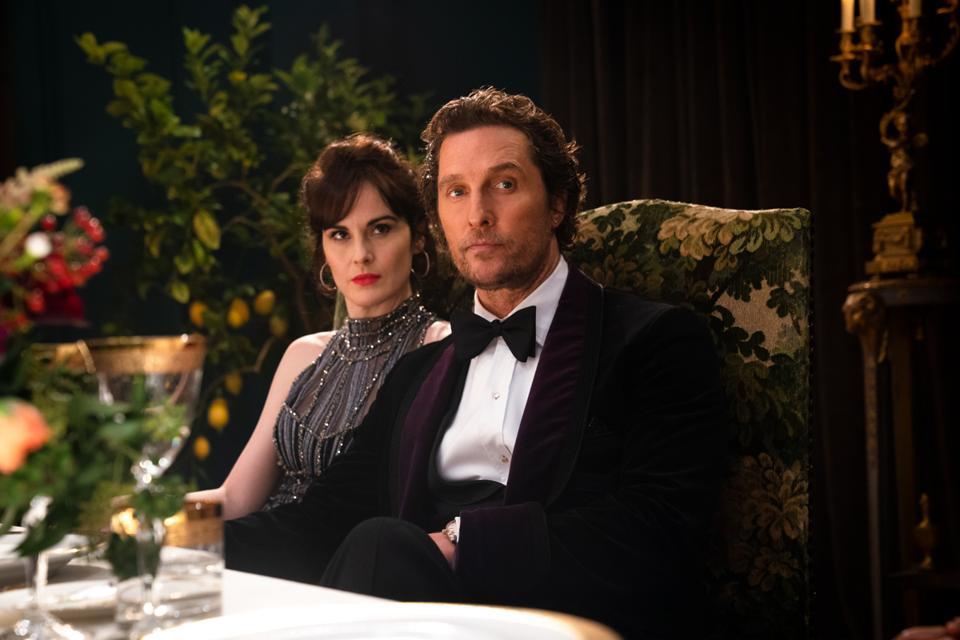 Matthew McConaughey and Michelle Dockery in Guy Ritchie's 'The Gentlemen'
