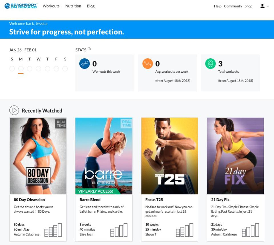 More than 1.7 million people subscribe to Beachbody.