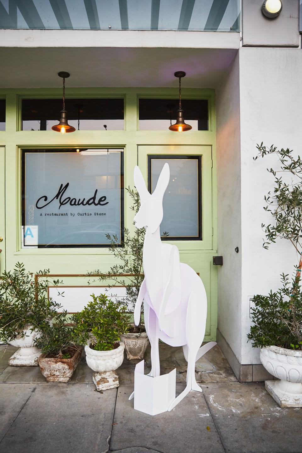 Curtis Stone's love for his home country is present on Maude's new menu