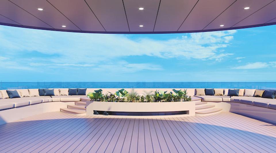 Artist rendering of Sky Deck on Emerald Azzurra