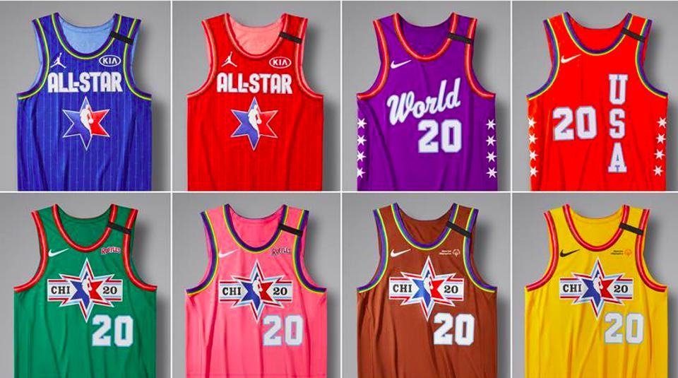 The NBA All-Star Game jerseys will honor both Kobe and Gianna Bryant, as well as showcase the city of Chicago's six-point star.
