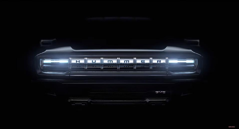 All electric Hummer grill