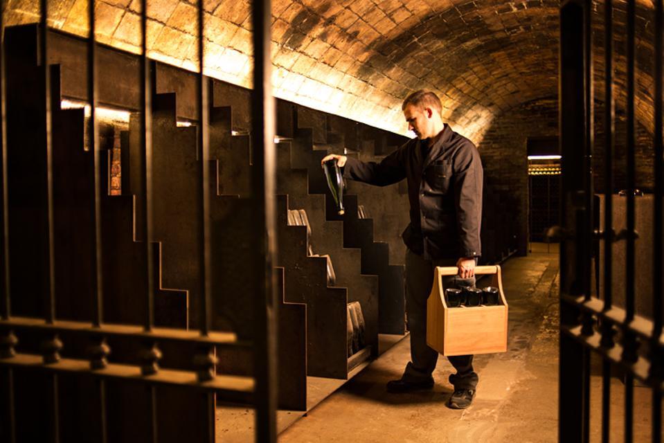 Recaredo cellar