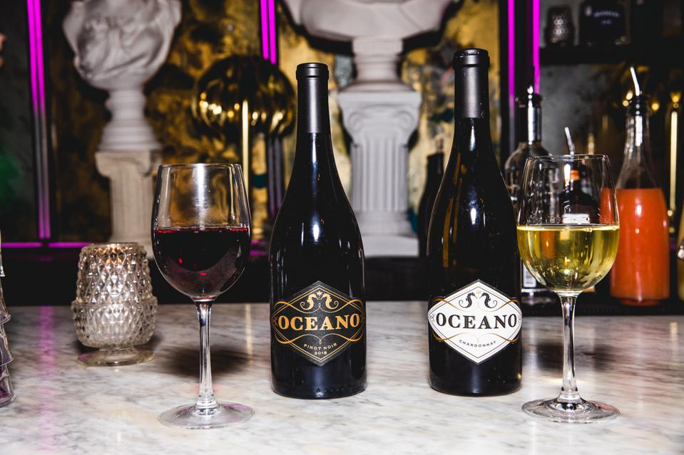 Oceano Pinot Noir and Chardonnay
