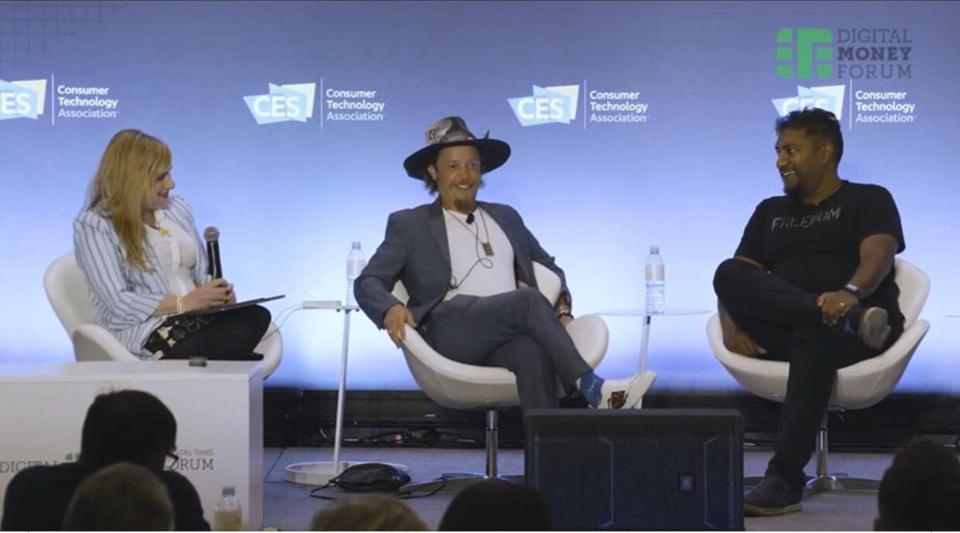 CES 2020 Fireside Chat with Martine Paris, Brock Pierce and Vinny Lingham