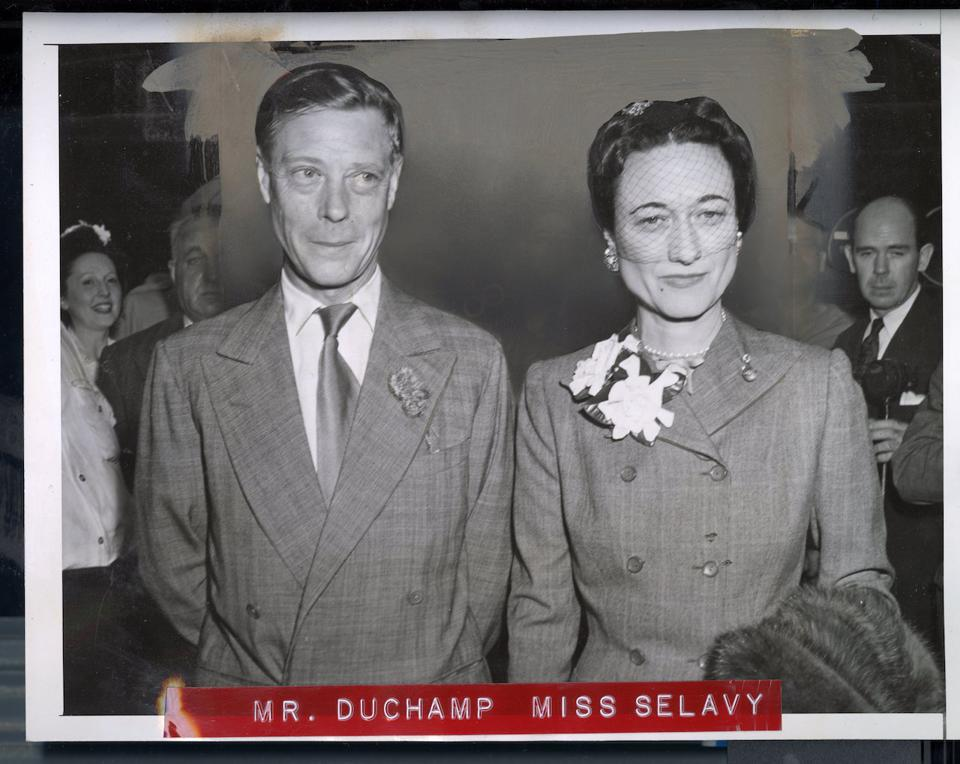 Mr. Duchamp and Miss Selavy.