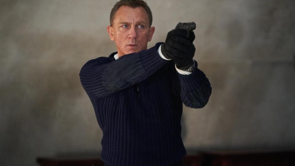 Daniel Craig is James Bond in 'No Time to Die'