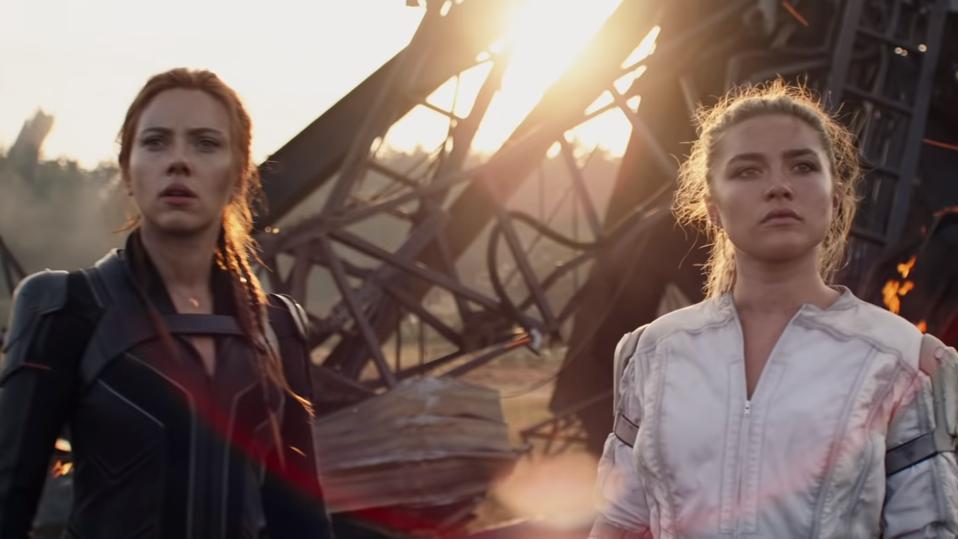 Scarlett Johansson and Florence Pugh in Marvel's 'Black Widow'