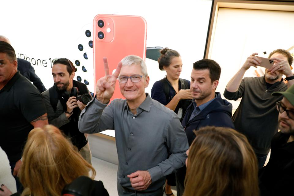 Apple Fifth Avenue Grand Reopening