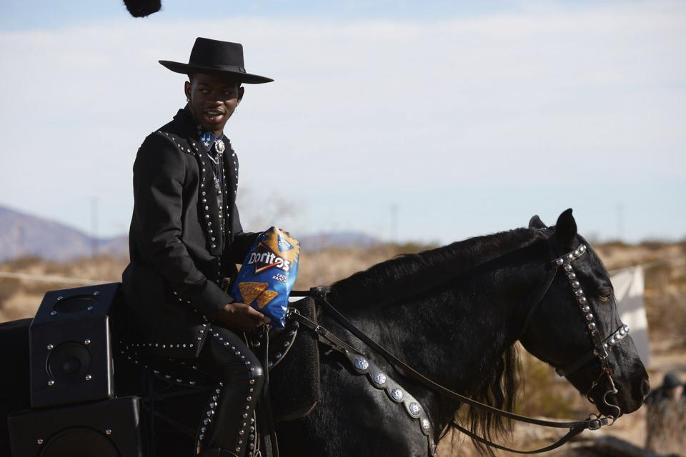 Lil Nas X And Billy Ray Cyrus Reflect On Blending Generations For Doritos' Super Bowl Ad
