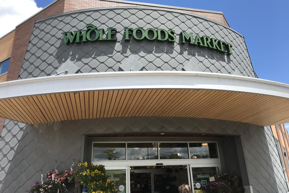 The Whole Foods store at the Bergen Town Center in Paramus N.J.