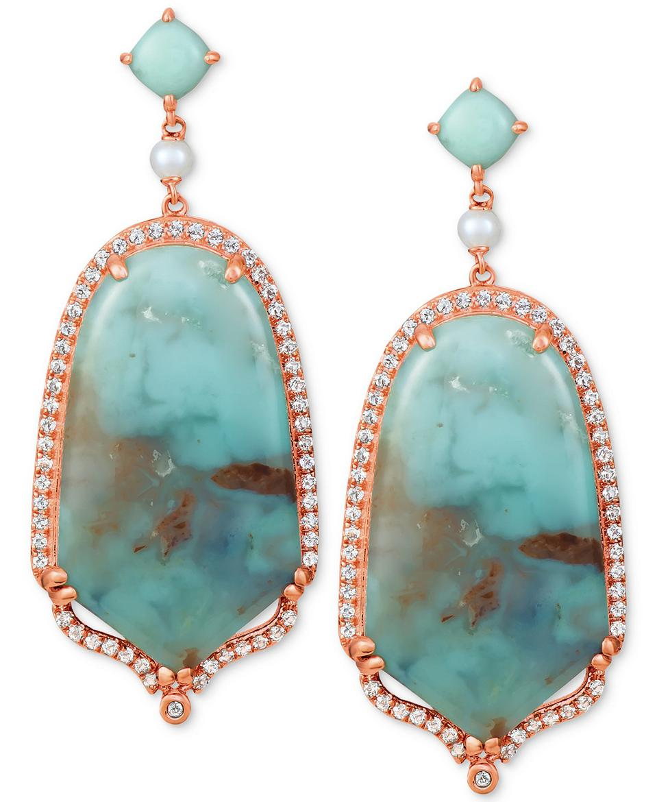 AquapraseTM  earrings with diamonds by Le Vian