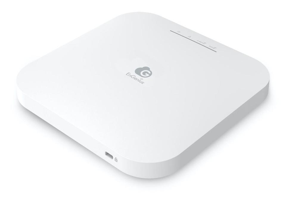 Three-quarter view of the ECW230 EnGenius wireless access point