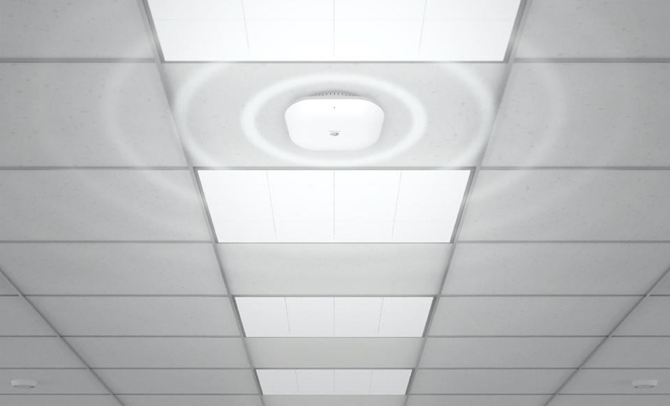 EnGenius ECW230 on a ceiling