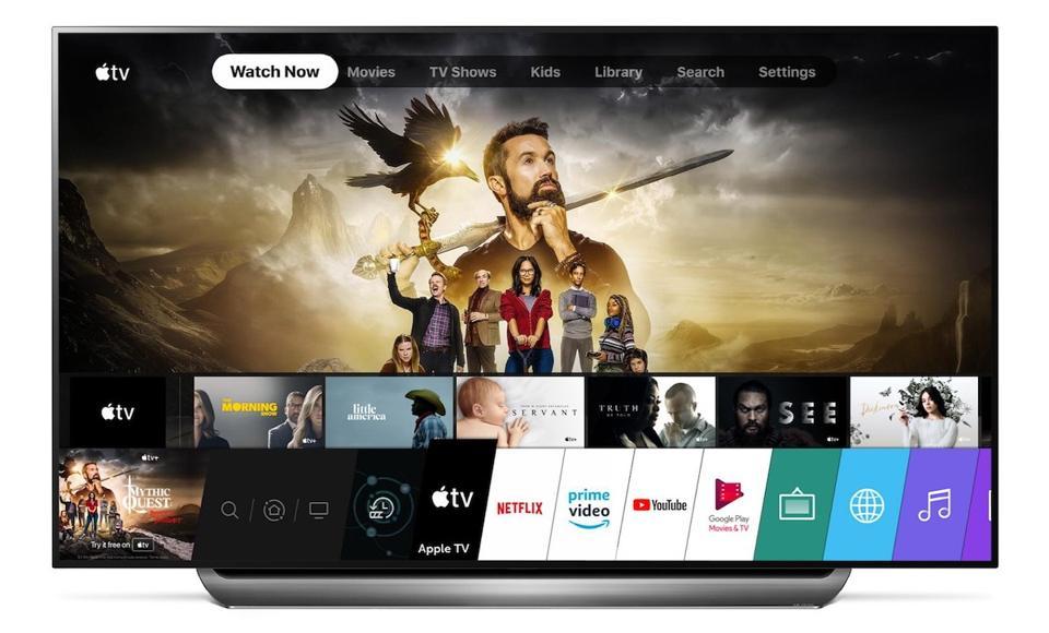 The LG C9 TV