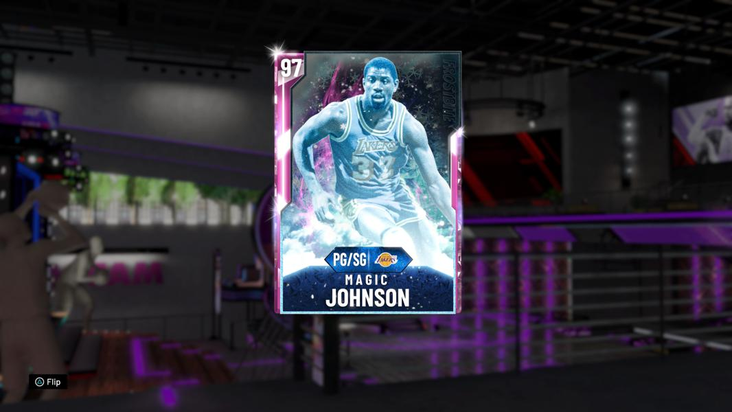 Pink Diamond Magic Johnson Is A 'NBA 2K20' MyTeam Game Changer In Triple Threat Online