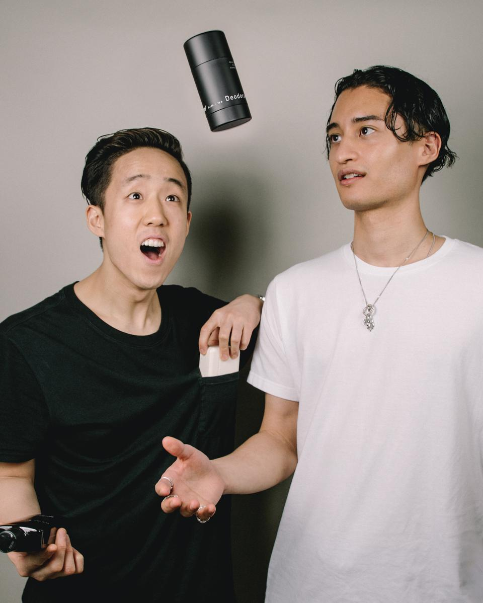 (L) Brian Jeong, co-founder and CEO of Hawthorne and (R) Phil Wong, co-founder and Creative Director of Hawthorne
