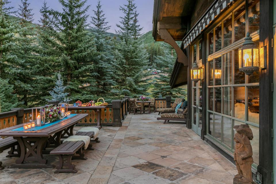 Ski-in, ski-out property in Vail