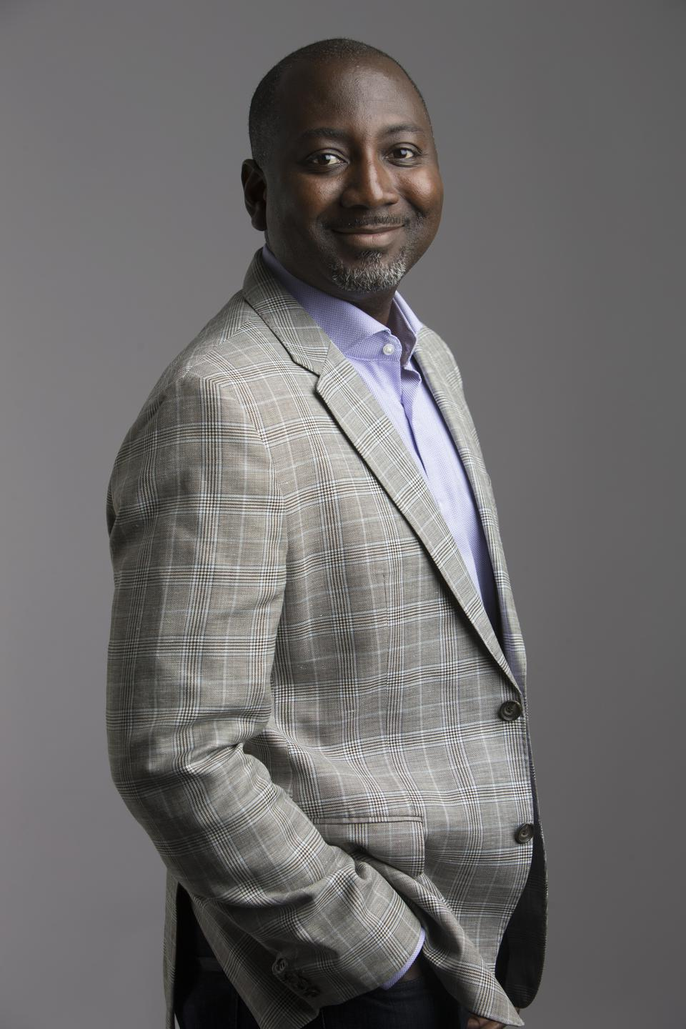 Photo Abe Ankumah, CEO of Nyansa, whose company was acquired by VMware.