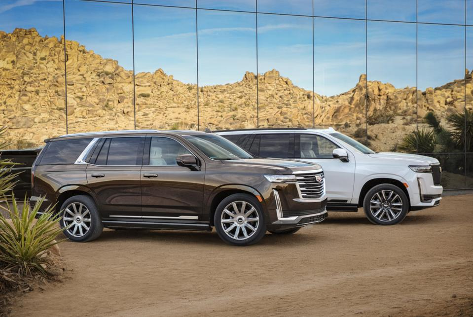 All-New 2021 Cadillac Escalade Unveiled Tonight Points ...