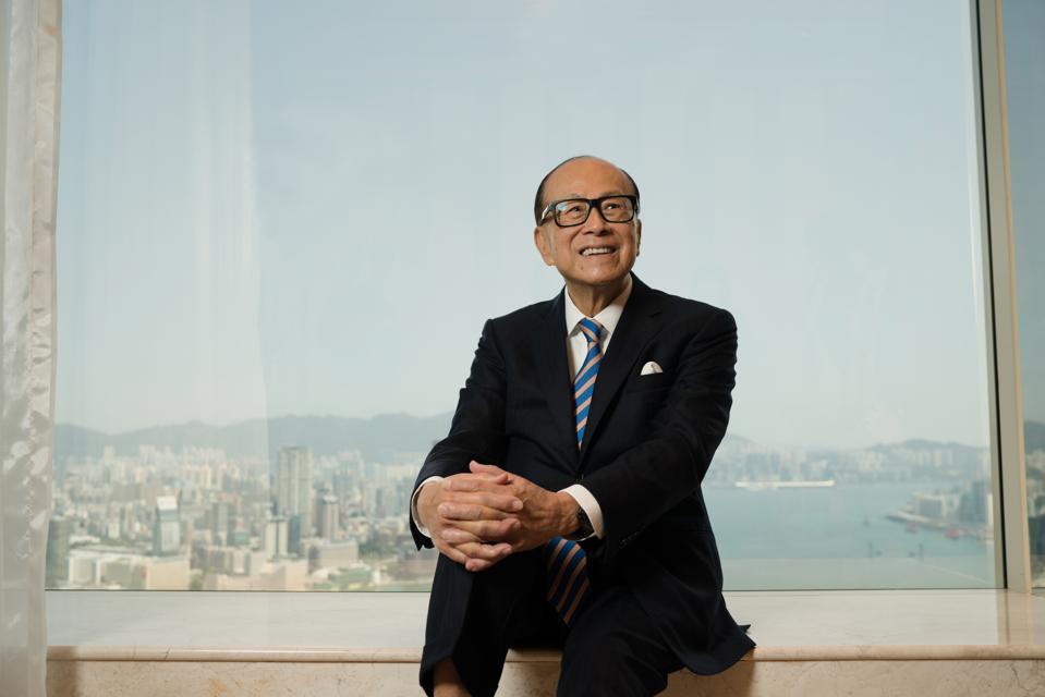 Li Ka-shing Interview In Hong Kong