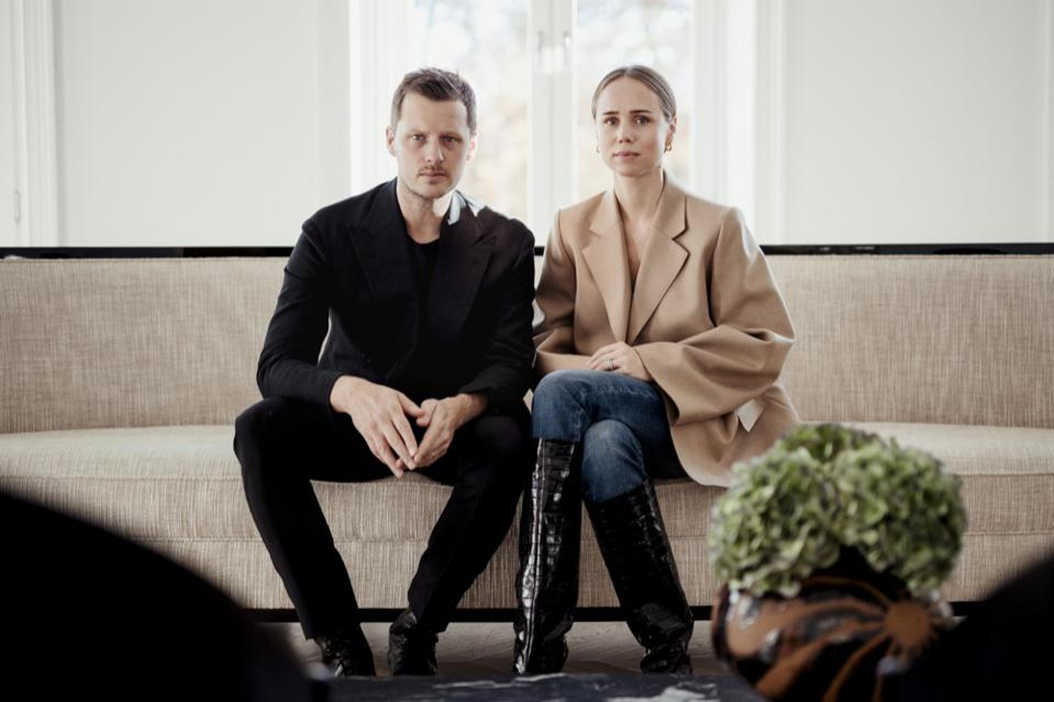 Karl Lindman and Elin Kling
