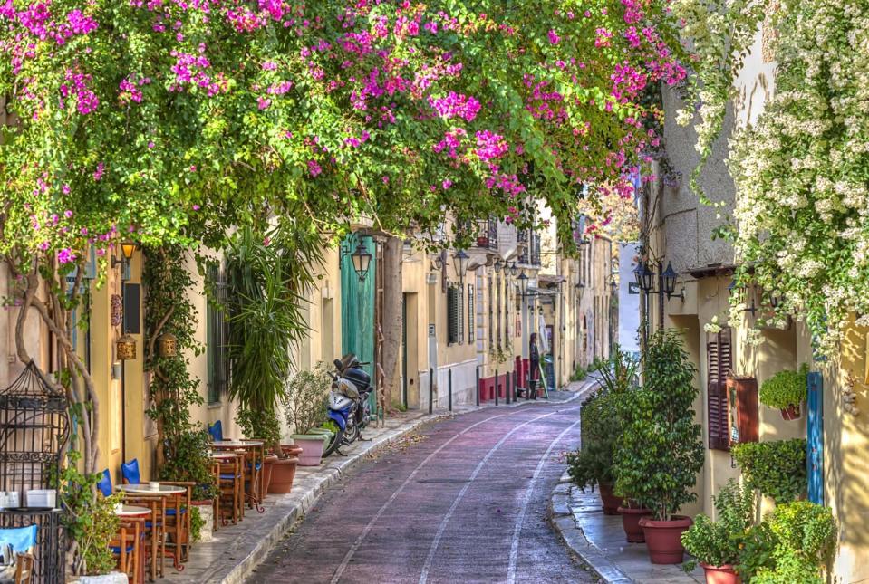 Athens, beautiful street