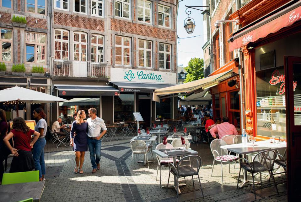 Namur, a romantic city in Belgium