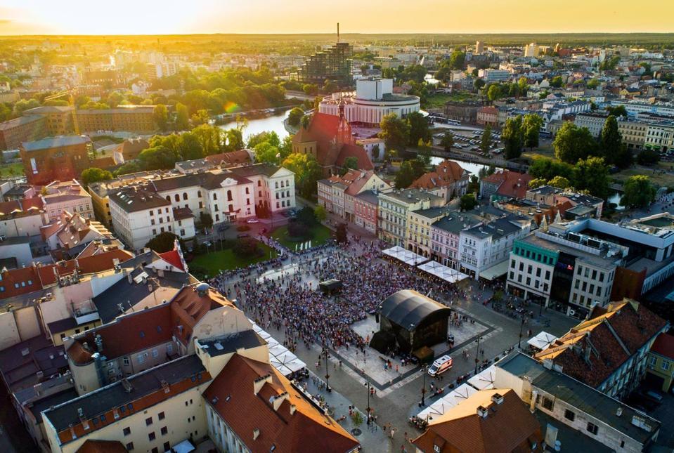 A general view of Bydgoszcz, Poland, a European Best Destination 2020