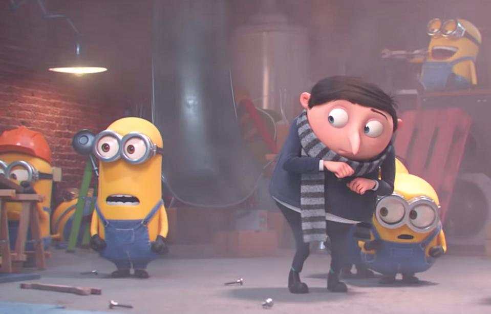 'Minions: The Rise Of Gru' Trailer Teases A Prequel To 'Despicable Me'