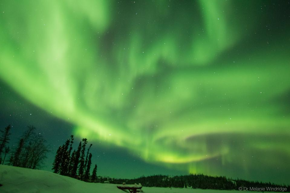 Aurora borealis Northern lights Canada Melanie Windridge