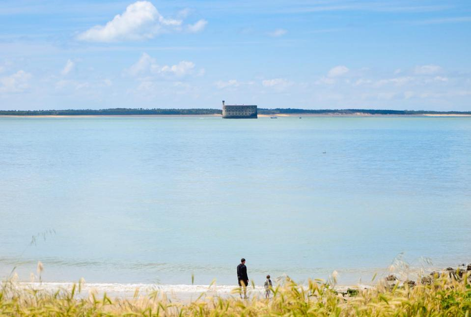 The sea at Rochefort Océan, France, favorite sustainable tourism destination