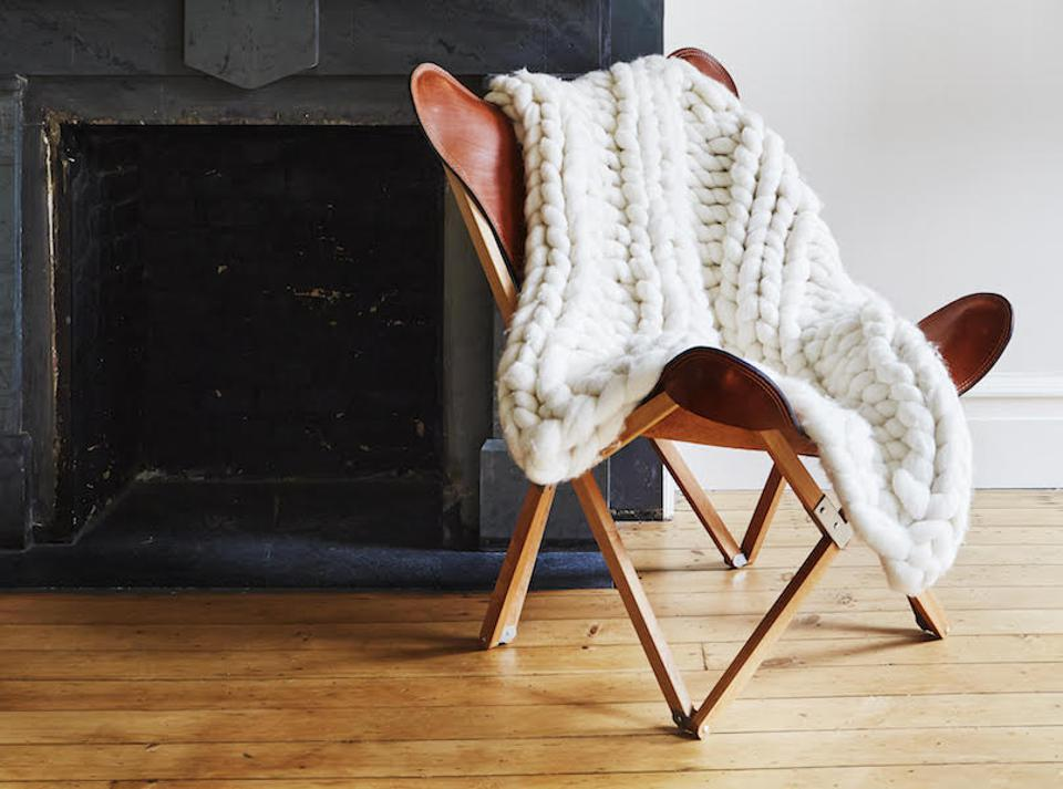 citizenry knit throw