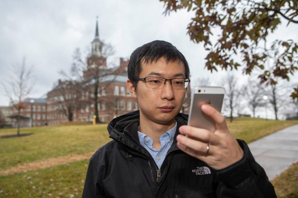 UC geography student Minxuan Lan