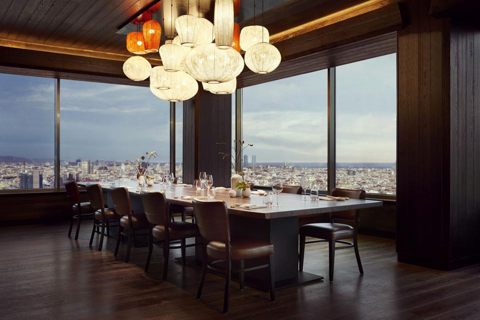 Nobu Restaurant Barcelona private dining room
