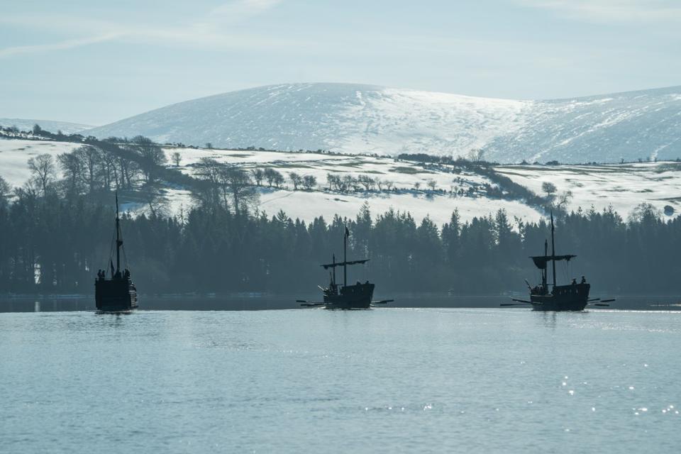 Vikings longships