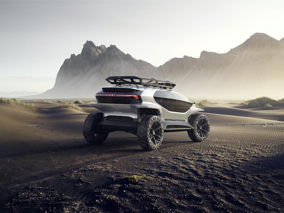 Audi AI:TRAIL is a futuristic concept at IAA 2019