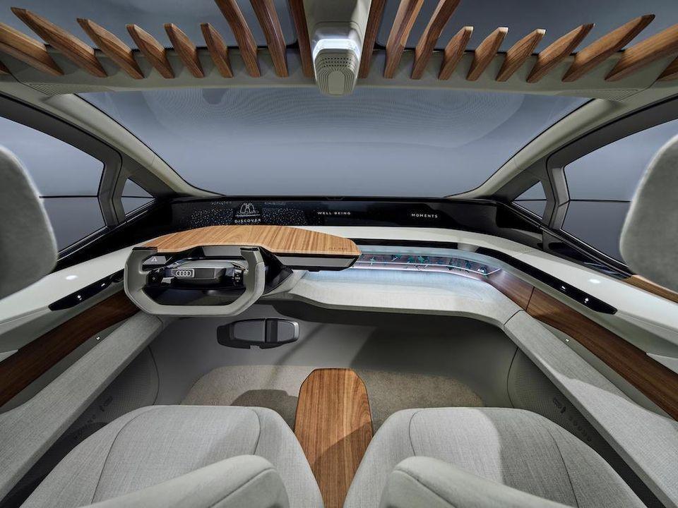 Audi AI:ME is a self-driving interactive city concept car