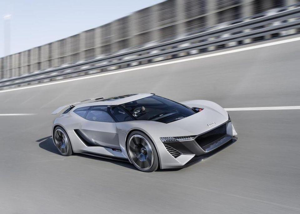 Audi PB18 e-tron concept is a dramatic performance EV