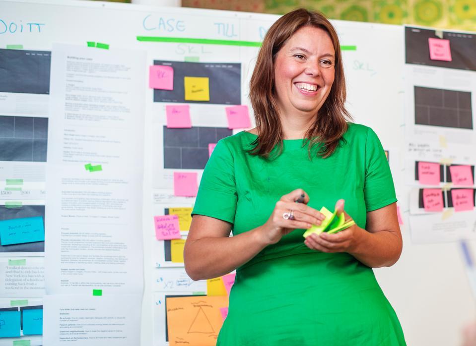 Lisa Lindstrom, founder and CEO of design agency Doberman, Photo Courtesy of Doberman