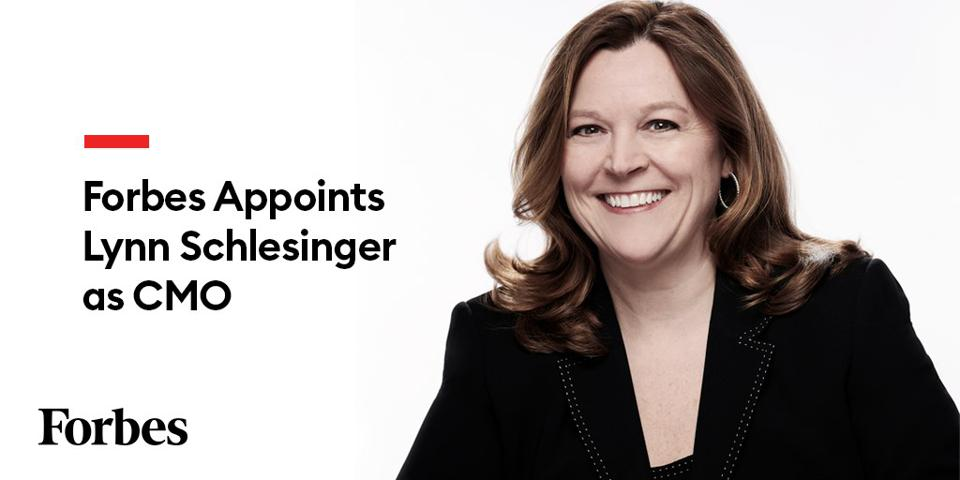 Forbes Appoints Lynn Schlesinger as CMO