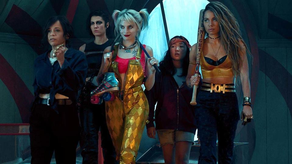 'Birds of Prey' stars Margot Robbie as Harley Quinn.