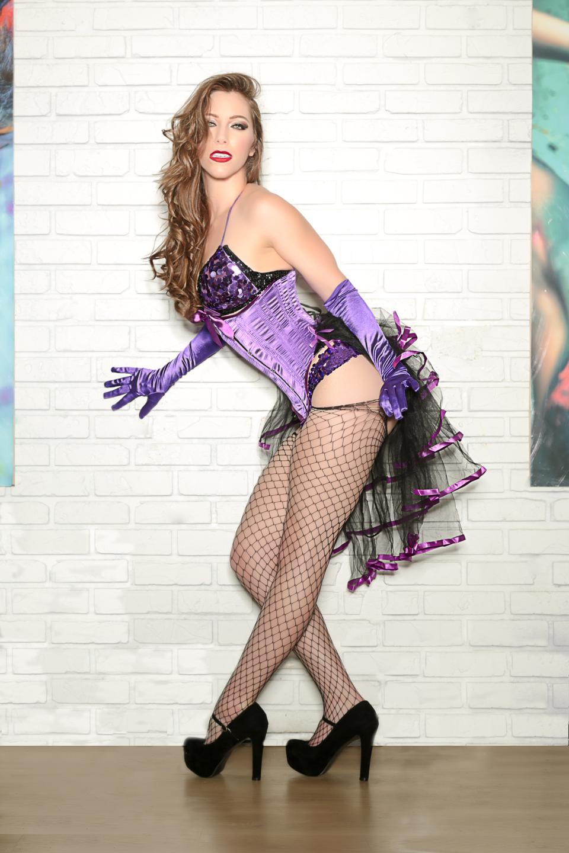 Ivy Les Vixens, founder of the Les Vixens burlesque troupe