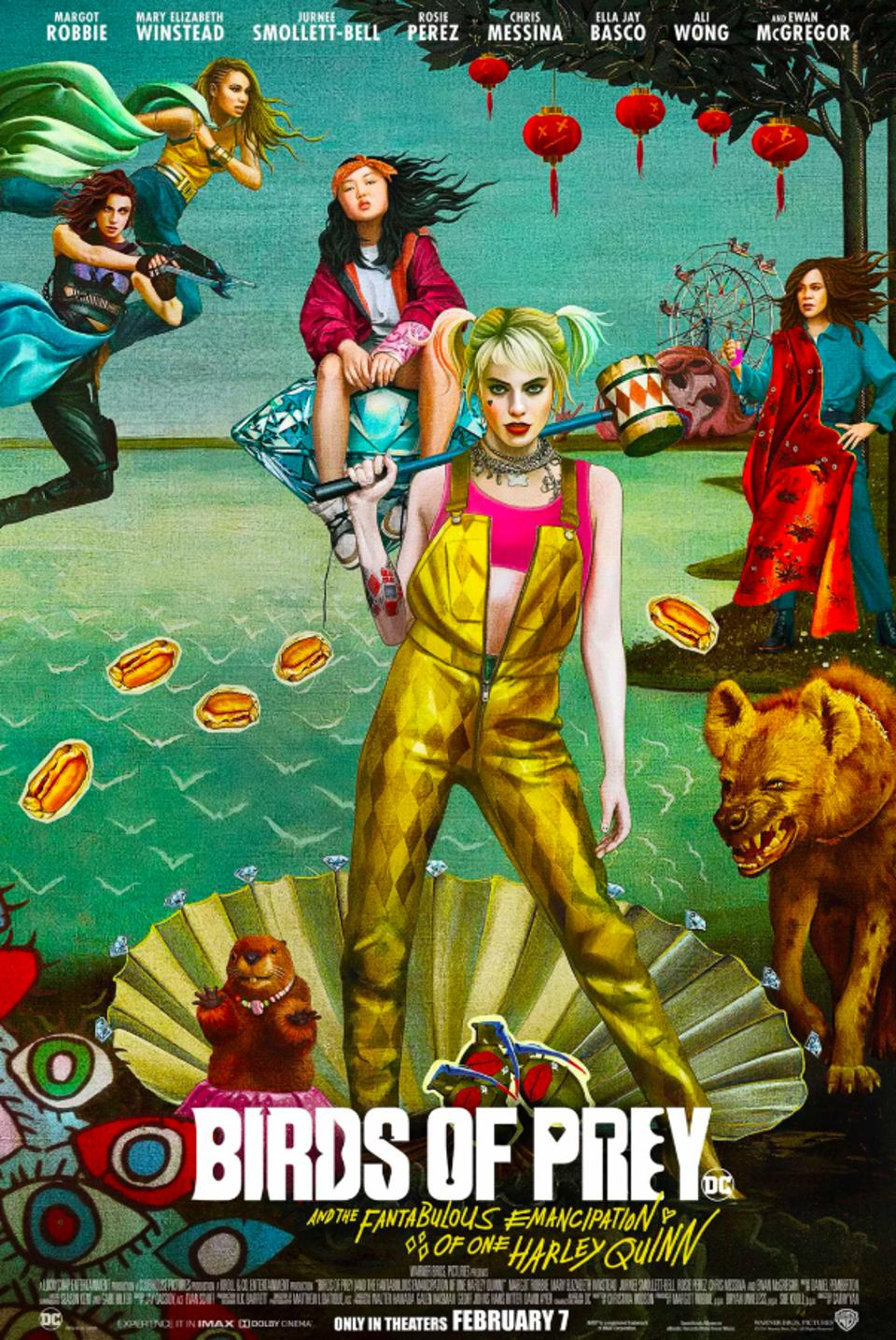 Official poster for ″Birds of Prey″