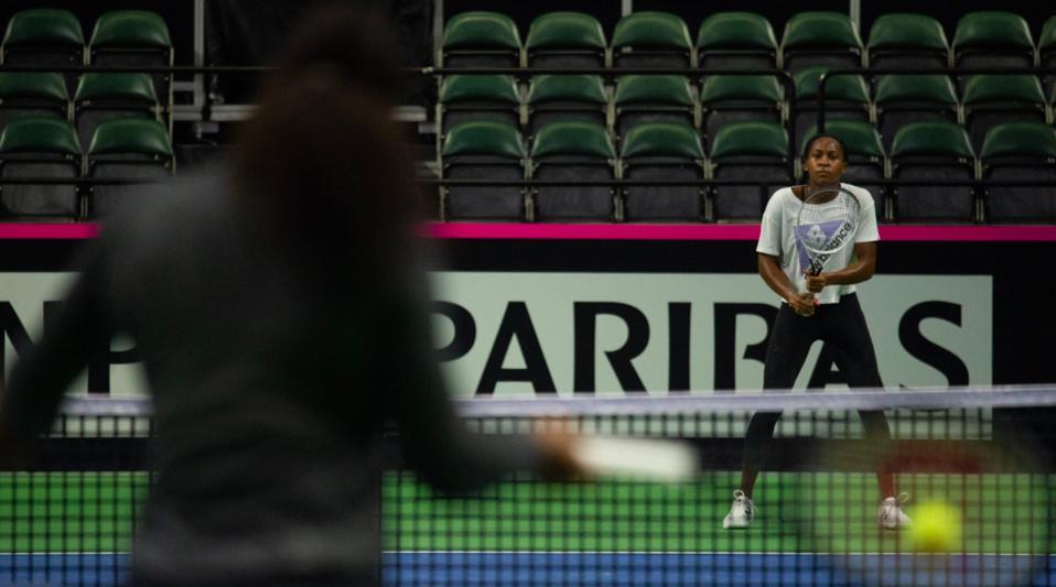 Fed Cup Coco Serena Williams