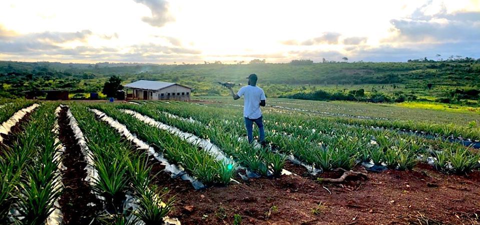 This Aspiring Doctor Turned Drone Entrepreneur Is Making Farming Better In Ghana