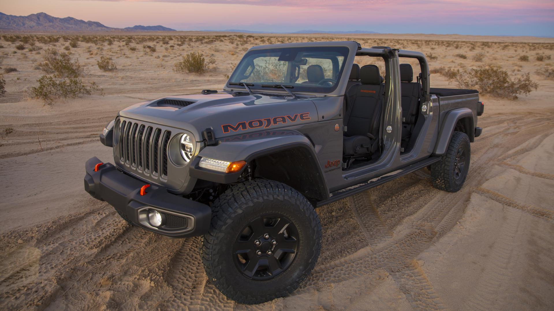 The Jeep Gladiator Mojave desert runner
