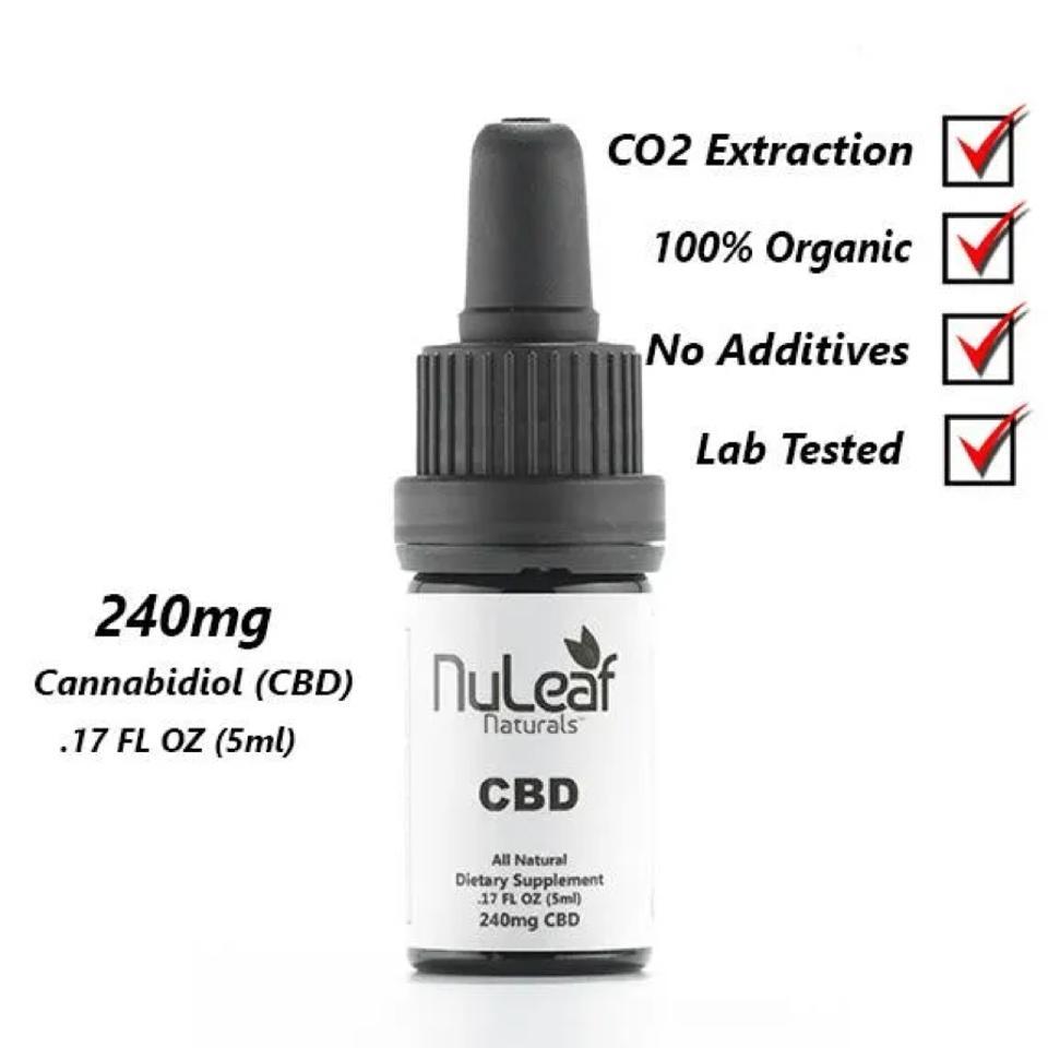 Nuleaf Naturals CBD Bottle